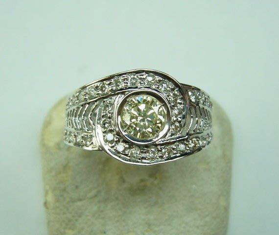 [吉宏精品交流中心]40分南非天然鑽石 戒指
