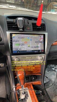 弘群汽車音響TOYOTA CAMRY 安裝 JHY R73  (10吋)8核心 2G+32G 高階安卓主機(衛星導航、收
