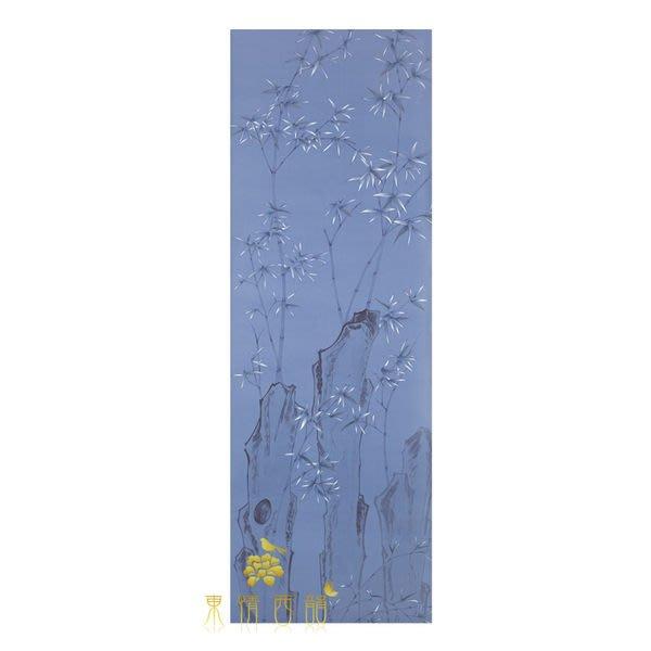 【芮洛蔓 La Romance】手繪絲綢壁紙 ZW01-033-15 / 壁飾 / 壁畫 / 牆紙