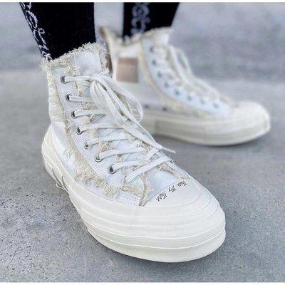 【全新正品】xVESSEL G.O.P Highs 吳建豪 白色 休閒鞋 帆布鞋 F19X008W