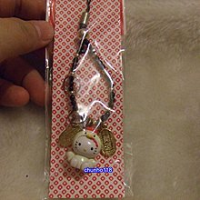 出清 全新 日本SANRIO KITTY十二生肖吊飾-雞(7262)-1999年(已絕版)