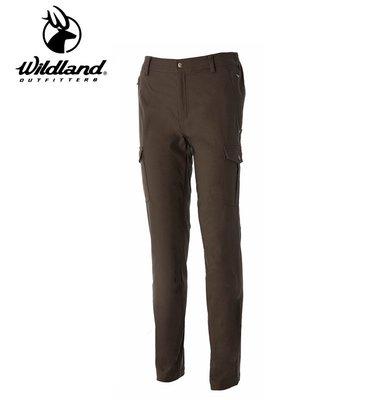 丹大戶外用品【Wildland】荒野 男Re超彈性貼袋保暖長褲 型號 0A52396-63 深卡其