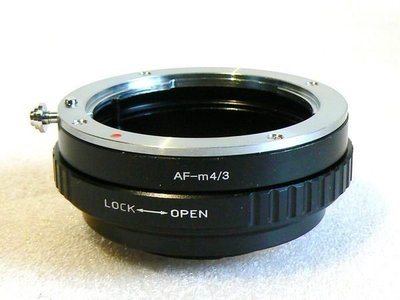【悠悠山河】Minolta AF Sony A 鏡頭轉 M4/3 M43 全系列微單 轉接環 可調整光圈