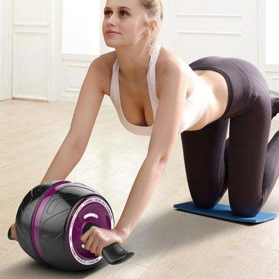 回彈健腹輪腹肌初學者收腹部靜音健身器材家用女減肚子滾輪滑輪男 台北日光