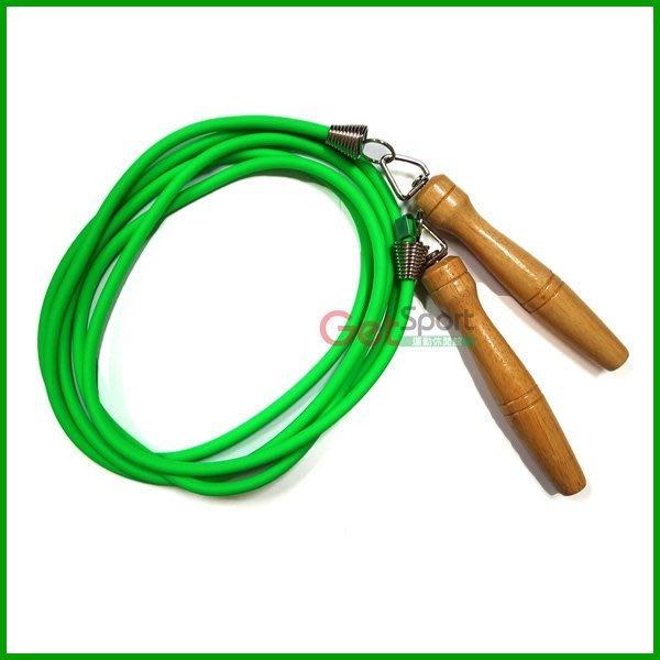 鐵人牌跳繩(比賽型)(實心跳繩/花式跳繩/木頭柄/台灣製造)