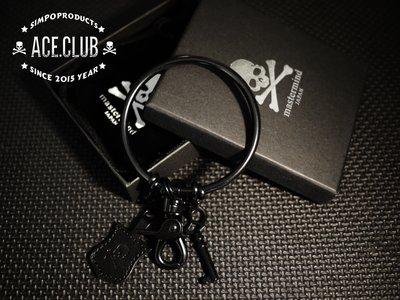 [ACE CLUB潮流代購]MASTERMIND JAPAN 多環扣皮革鑰匙圈 飾品 小物 visvim