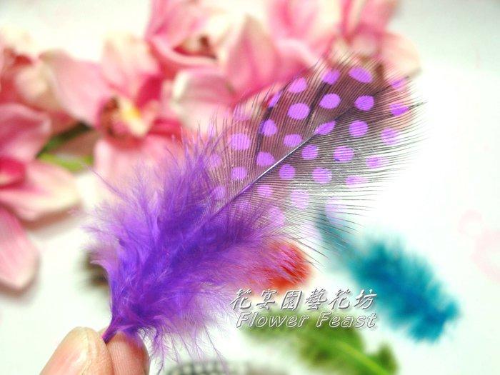 【花宴】資材系列*小羽毛~系列二*7色~帽飾~胸花~製作手工藝品~髮飾