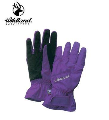 丹大戶外用品【Wildland】荒野 女PR棉防水防風觸控手套 型號 W2003-53 紫色