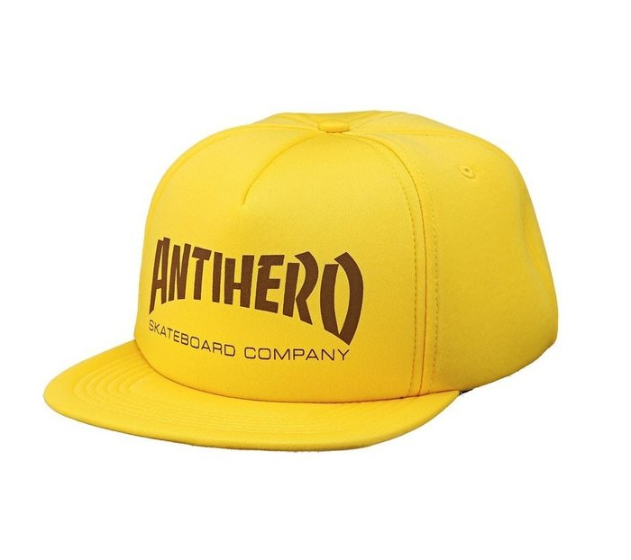 { POISON } ANTI-HERO SKATE CO. FOAM SNAPBACK HAT 泡泡後扣式棒球帽