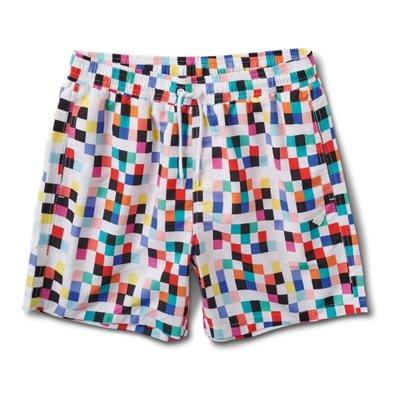 [CABAS滑板店] DIAMOND PIXEL SHORT 格紋 │ 海灘褲 短褲 鬆緊帶 抽繩 滑板 鑽石