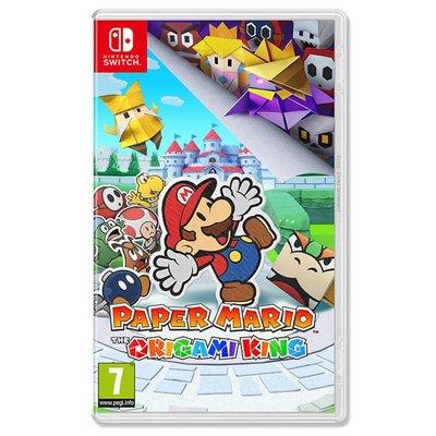 Switch 遊戲 紙片瑪利歐:摺紙國王 中文版 2020.07.17上市