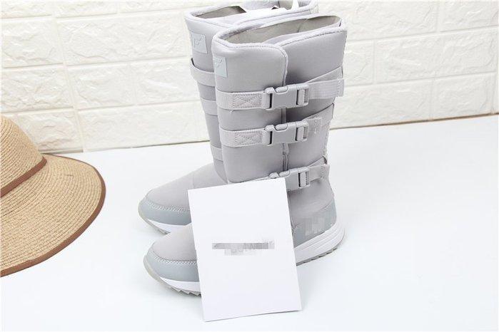 東大門平價鋪  歐美大碼訂單女高幫 雪地靴, 防滑保暖中長筒雪地靴