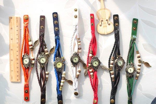 復古羅馬 手錶 手鍊 飾品 配件 手環 仿牛皮 禮品 生日禮物 手鏈手錶(DIDA-699)