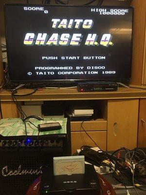 任天堂 紅白機 FC 卡帶 Taito Chase H.Q. 追蹤 H.Q. 中古 二手