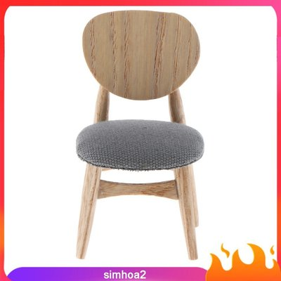 #現貨直出  Dollhouse Living Room Furniture Gray Fabric Modern-MD