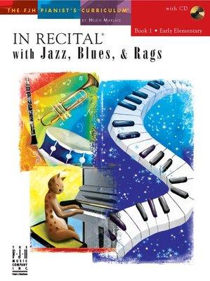 【599免運費】In Recital with Jazz, Blues, and Rags, Book 1 F1739