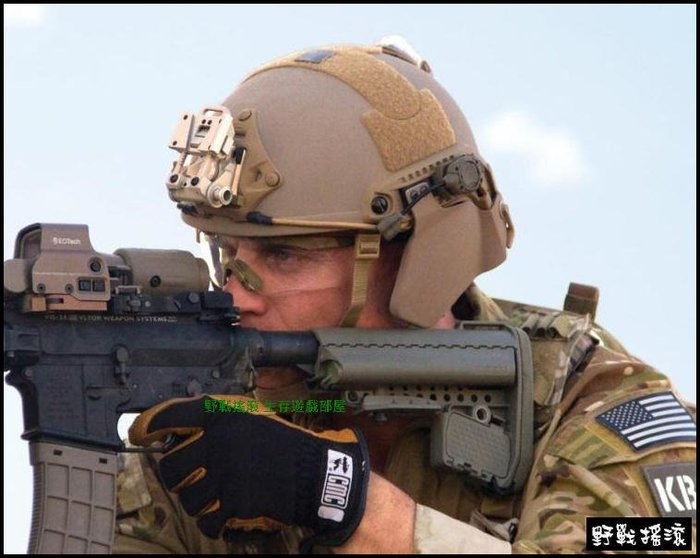 【野戰搖滾-生存遊戲】FAST頭盔專用輕量化防彈護耳片【黑色、綠色、沙色】可搭配頭盔