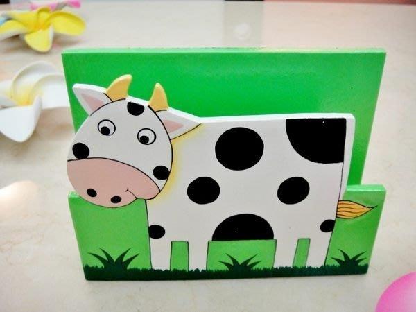 Y【永晴峇里島】巴里島乳牛造型面紙盒,增添異國風味,居家,民宿,餐廳,飯店都好用-面紙盒6@
