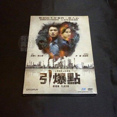 全新影片《引爆點》DVD 吳慷仁 姚以緹 尹馨 徐詣帆 莊景燊