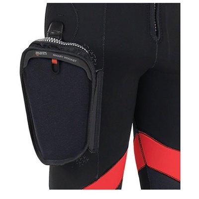 台灣潛水---MARES   New FLEXA 防寒衣 專用外掛口袋