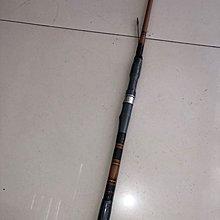 ☆老簡工坊☆超敏感ㄧ支釣手工竹模老鼠尾筏竿S-5801(左手持竿)~旋轉珠~單節式~八卦輪專用