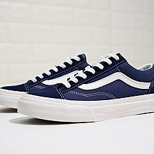 D-BOX  Vans Vault OG style 36 板鞋 帆布鞋 復古 深藍白 經典