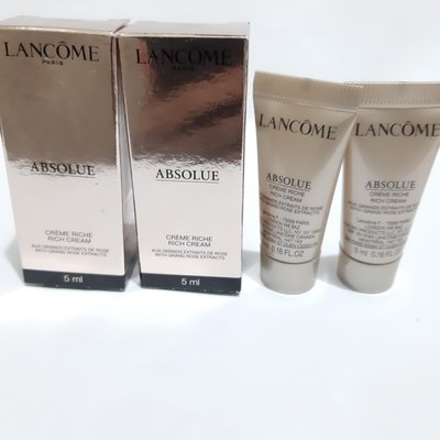 Lancome Absolue Cream (Rich) 極緻完美玫瑰面霜 5ml