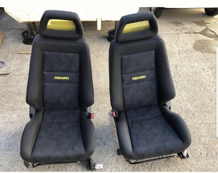 FS日本代購代標~黃網RECARO 賽車椅(6月底7月初到貨,現貨)K6K8.CIVIC.VW.老車.LX.LS.JDM.