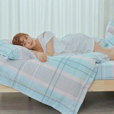 [SN]#U100#細磨毛天絲絨6x6.2尺雙人加大舖棉兩用被床包四件組-台灣製(限單件超取)
