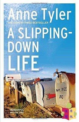 [文閲原版]走下坡的生活 英文原版 Slipping-Down Life (Arena Books) Anne Tyler Vintage 文學