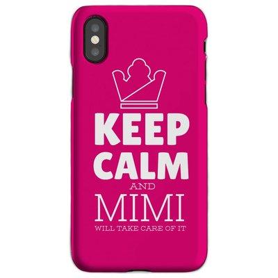 母親節生日禮物Keep Calm手機殼iphoneXmax適用蘋果11Pro華為安卓