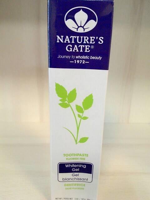 【喜樂之地】Nature's Gate 經典雙倍青竹植萃潔白無氟潔牙膠 141g