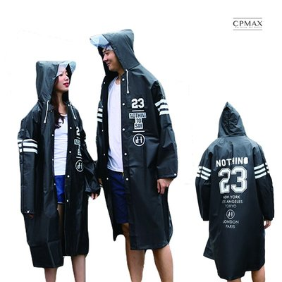 CPMAX 大衣款成人雨衣 通勤族的小...