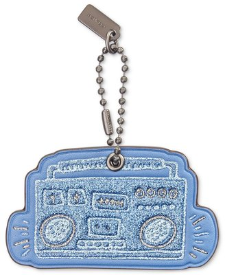 Coco小舖Coco小舖COACH 28599 Keith Haring Boombox Hangtag  音箱吊飾