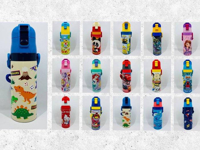 【樂樂日貨】*現貨20款*日本 2019 Skater 不鏽鋼 兒童水壺 保冷保溫 直飲式水壺 470ml SDC4