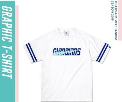 【Have Fun】富邦悍將 FUBONGUARDIANS 2019 美式閃電 短T T恤 白XS-3XL