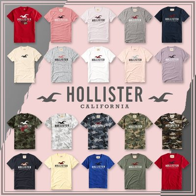 MELEK Clothes 代購正品現貨 【HOLLISTER Co.】【HCO】 HC男款圓領海鷗短袖短T