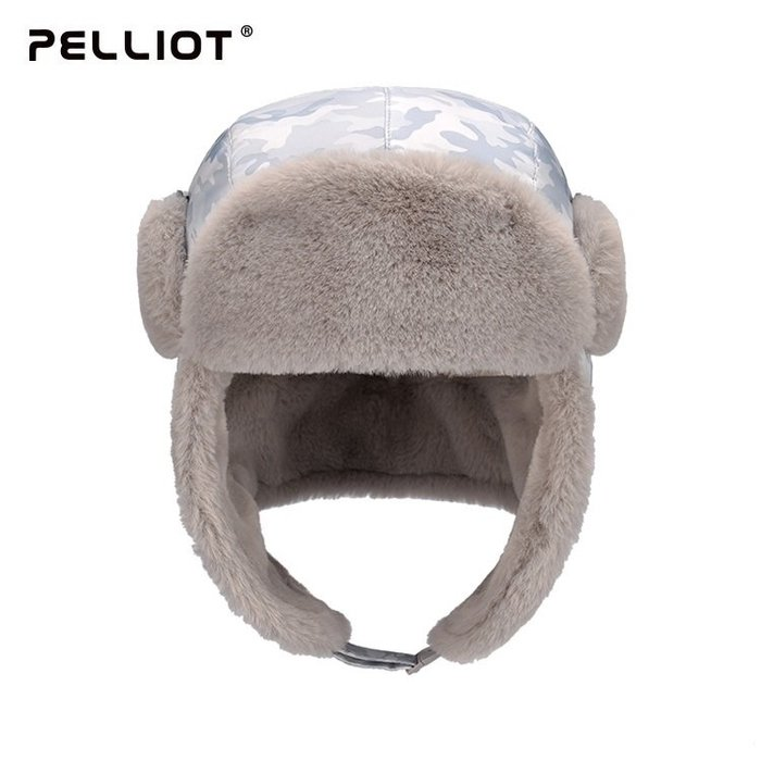 【露西小舖】法國Pelliot防潑水超輕保暖雷鋒帽(兒童款)抗寒-30℃防寒帽加厚防風防凍保暖帽蒙古帽滑雪帽護耳帽禦寒帽