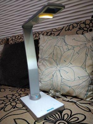 二手 飛利浦 Philips 鈦光 LED檯燈 白 69195 台南市