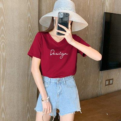 純棉韓版T恤女短袖2020新款印花寬松學生上衣半袖個性百搭體恤夏