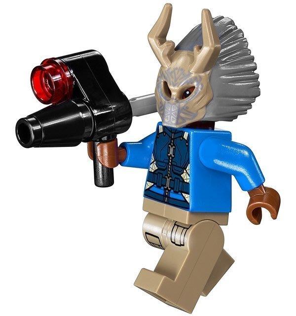 現貨【LEGO 樂高】全新正品 積木 / 超級英雄系列 76100 | 人偶拆賣: 黑豹宿敵 KILLMONGER+武器
