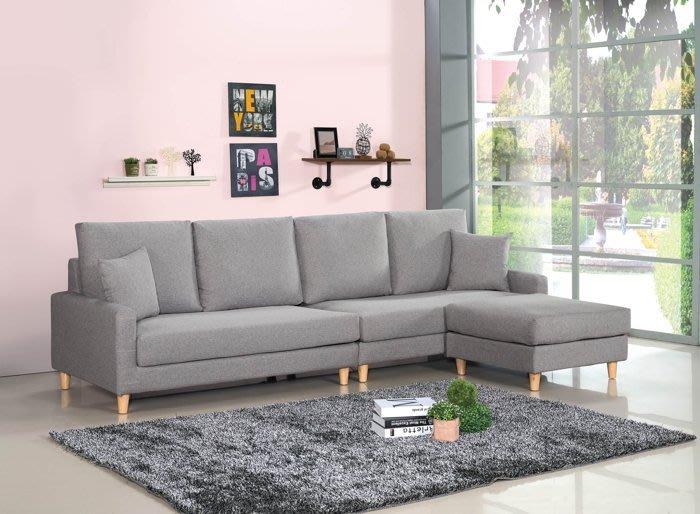 【DH】商品編號BC148-2商品名稱L型沙發組271CM(圖一)輔助椅可左右移動擺飾.附抱枕.主要地區免運費