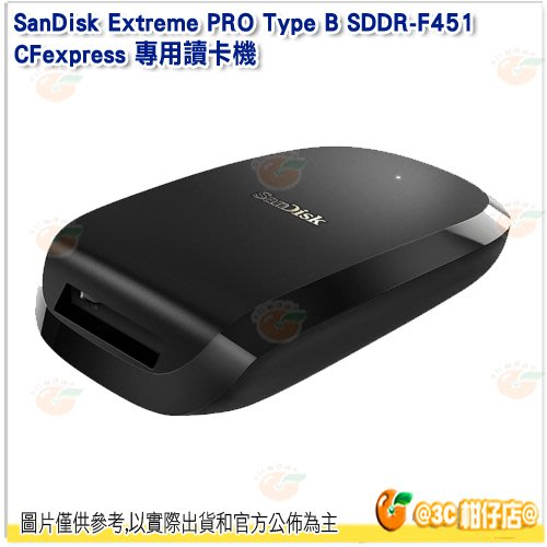 SanDisk Extreme PRO Type B SDDR-F451 CFexpress 專用讀卡機公司貨 F451