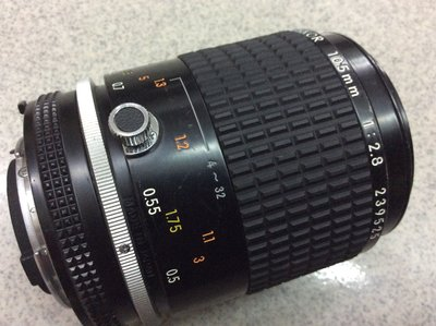 [保固一年]【高雄明豐]   Nikon AIS Micro-NIKKOR 105mm F2.8 微距鏡 便宜賣