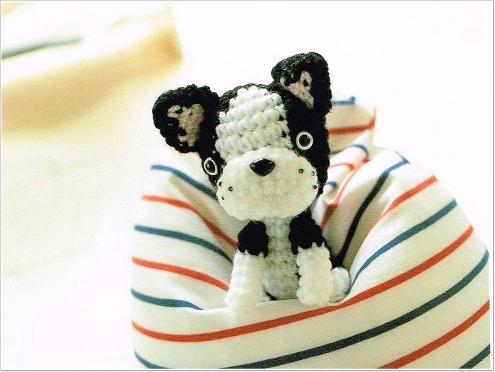 毛線編織娃娃~狗 材料包~多色任選配!棉花、手鉤紗、造形帽娃娃~手工藝材料、進口毛線、編織工具☆彩暄手工坊☆