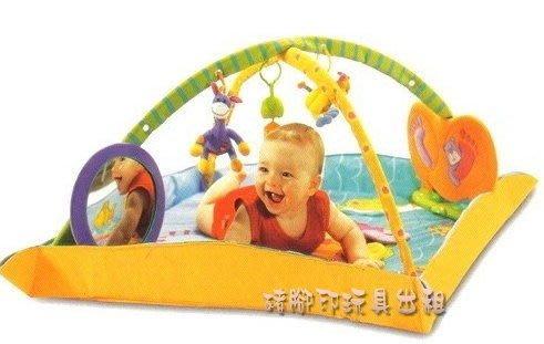 °✿豬腳印玩具出租✿°TINY LOVE特大豪華型古典樂燈光遊戲毯(7)~預約09/25