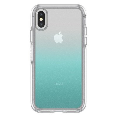 美國原裝正品【OtterBox】iPhone X / XS Symmetry 炫彩幾何系列保護殼 -  透明星沙漸層