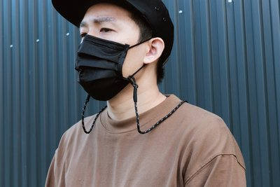 【Matchwood直營】 Matchwood Mask Sling 口罩掛繩 太陽眼鏡防丟鍊掛頸繩 黑色款