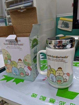 全新~~角落小夥伴旋轉蓋陶瓷杯 聯電2020年股東紀念品