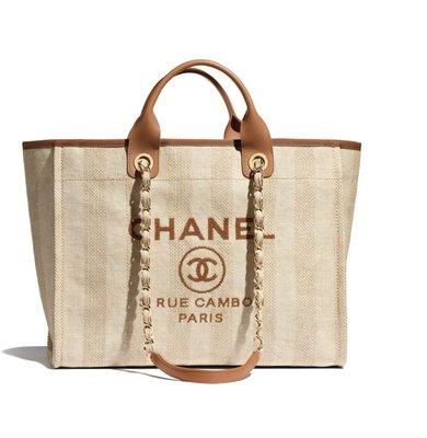 【英國連線代購】Chanel  Shopping Bag 帆布包  A66941  免運中